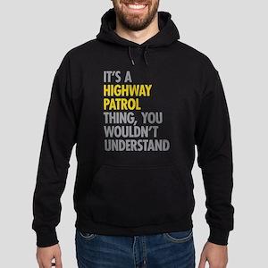 Highway Patrol Thing Hoodie (dark)