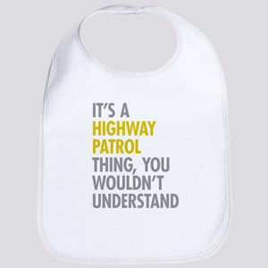 Highway Patrol Thing Bib