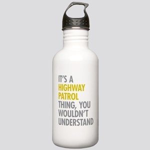 Highway Patrol Thing Stainless Water Bottle 1.0L
