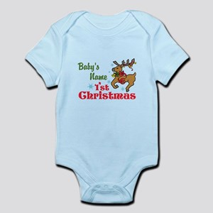Personalize Babys 1st Christmas Body Suit