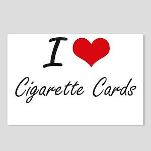 I Love Cigarette Cards ar Postcards (Package of 8)