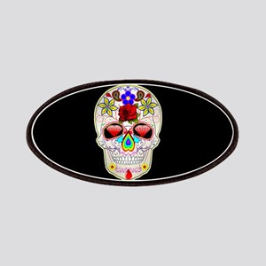 mexican sugar skull Patch