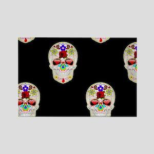 mexican sugar skull Magnets