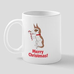 Merry Christmas Husky Mug