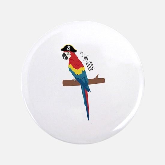 Ho Ho Ho Bird Button