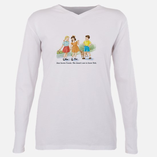 Jane knows Connie... Retro Sh Ash Grey T-Shirt
