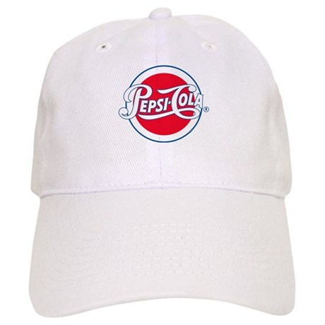 00d65fda6e1f3 Pepsi Varsity Cola Round Baseball Cap by Pepsi
