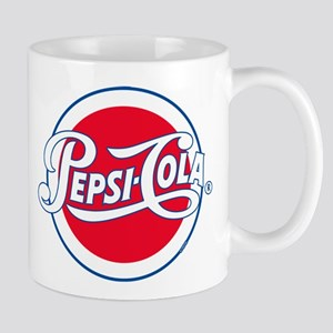 Pepsi Varsity Cola Round 11 oz Ceramic Mug