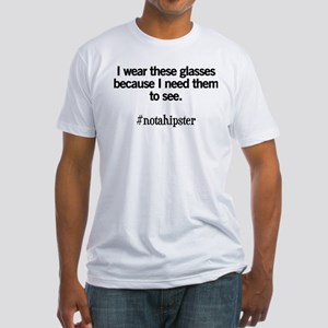 Not A Hipster Glasses T-Shirt