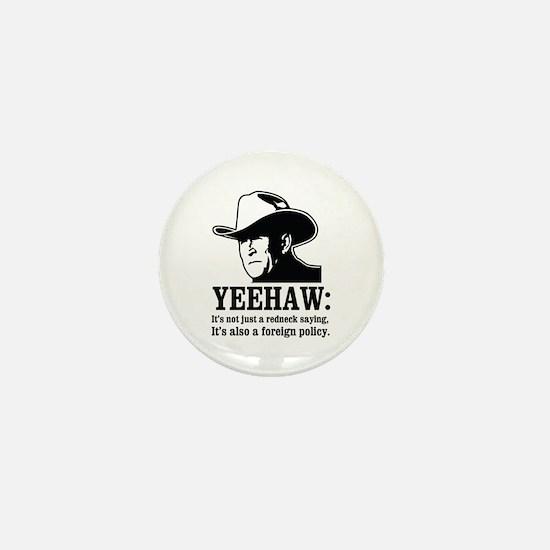 yeehaw Mini Button