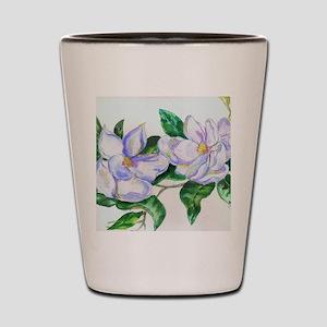 Lavender Magnolias Shot Glass