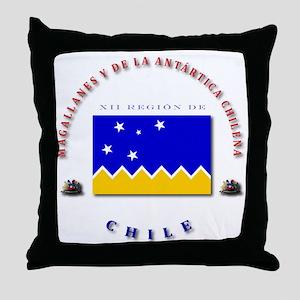 XII Region Throw Pillow