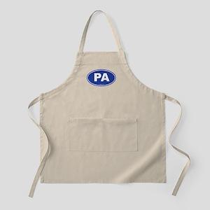 Pennsylvania PA Euro Oval Apron