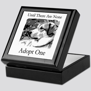 Until There Are None...Adopt Keepsake Box