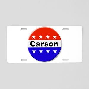 Vote Carson Aluminum License Plate
