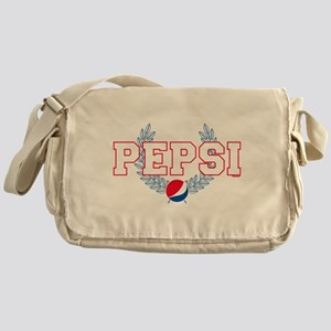 Pepsi Varsity Wreath Messenger Bag