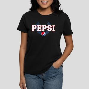 Pepsi Varsity Wreath Women's Dark T-Shirt