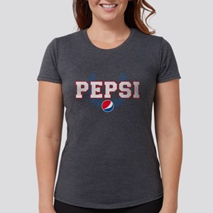 Pepsi Varsity Wreath Womens Tri-blend T-Shirt