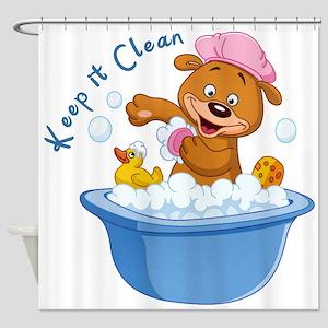 Keep It Clean - Shower Curtain