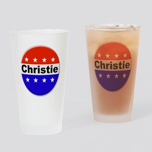 Vote Christie Drinking Glass