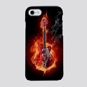 Flaming Guitar iPhone 8/7 Tough Case