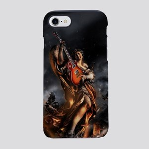 Statue With Guitar iPhone 8/7 Tough Case