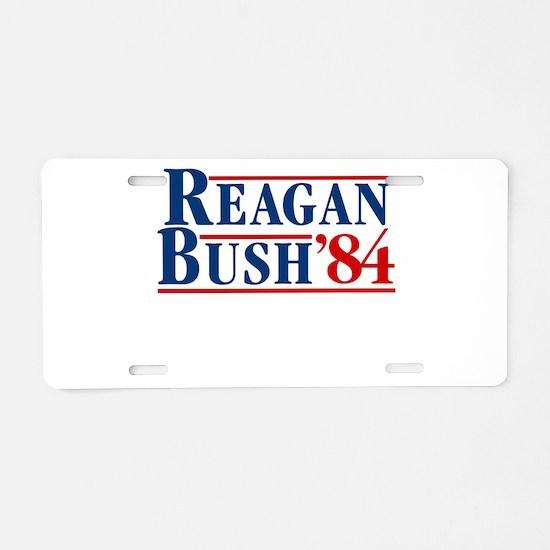 Cute Reagan Aluminum License Plate