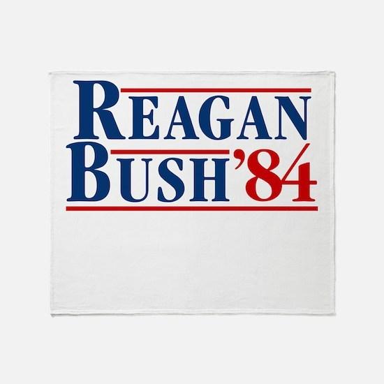 Unique George bush Throw Blanket
