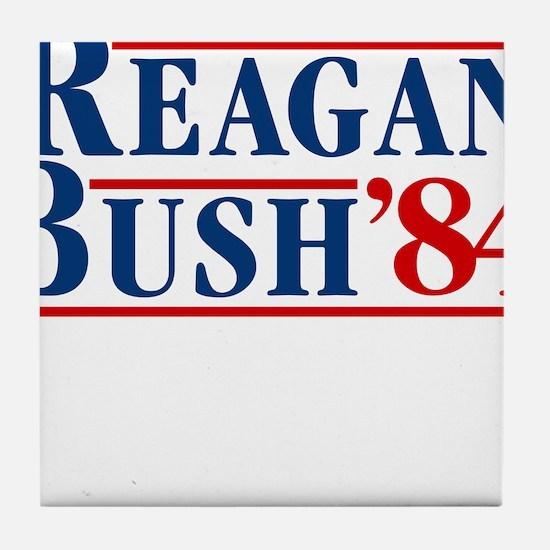 Cute Reagan Tile Coaster