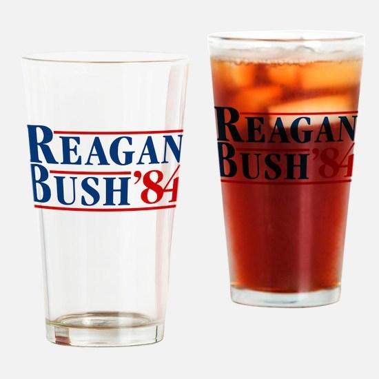 Cute Reagan Drinking Glass