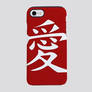 The word LOVE in Japanese Ka iPhone 8/7 Tough Case