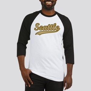 retro Seattle Baseball Jersey