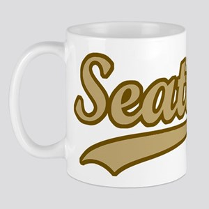 retro Seattle Mug