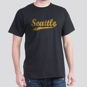 retro Seattle Dark T-Shirt