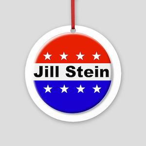 Vote Jill Stein Round Ornament