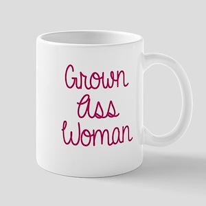 Grown Ass Woman Mugs