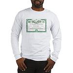 PRR 1959 Stock Certificate Long Sleeve T-Shirt