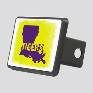 Louisiana Rustic Tigers Rectangular Hitch Cover