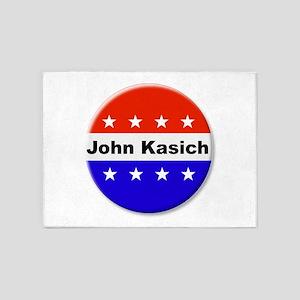 Vote John Kasich 5'x7'Area Rug