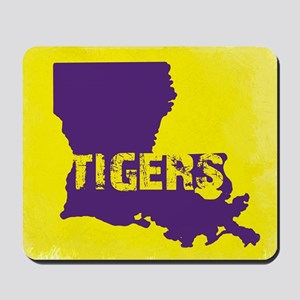 Louisiana Rustic Tigers Mousepad