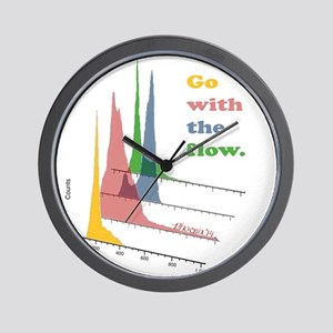 Go with the flow-cytometry Wall Clock