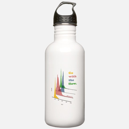 Go with the flow-cytometry Water Bottle