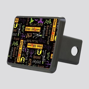 Happy Halloween III Rectangular Hitch Cover