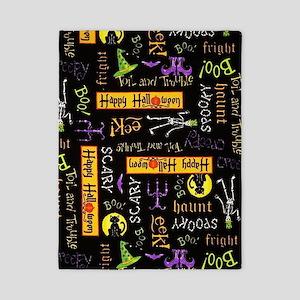 Happy Halloween III Twin Duvet