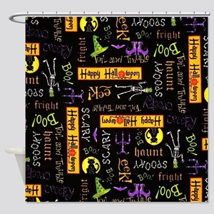 Happy Halloween III Shower Curtain