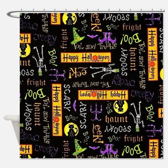 Happy Halloween III Shower Curtain