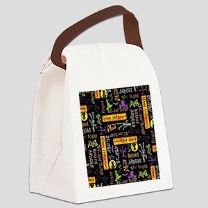 Happy Halloween III Canvas Lunch Bag