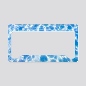 Dappled Water License Plate Holder