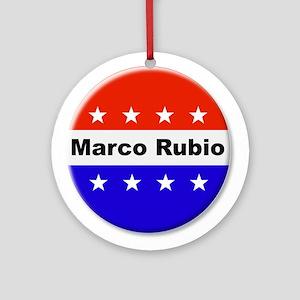 Vote Marco Rubio Round Ornament