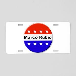 Vote Marco Rubio Aluminum License Plate